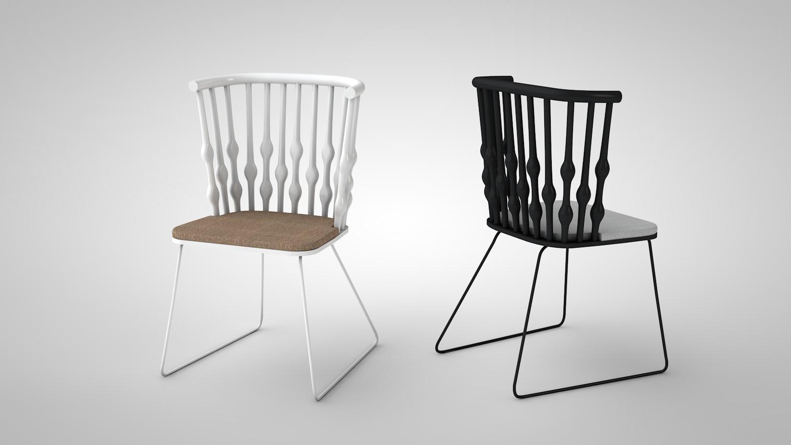 Spanische Möbel | Grafikdesign und 3D-Visualisierungen – nielsfaassen