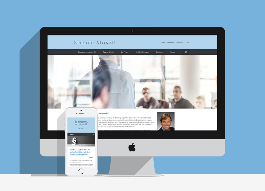 Relaunch für www.strategisches-arbeitsrecht.de